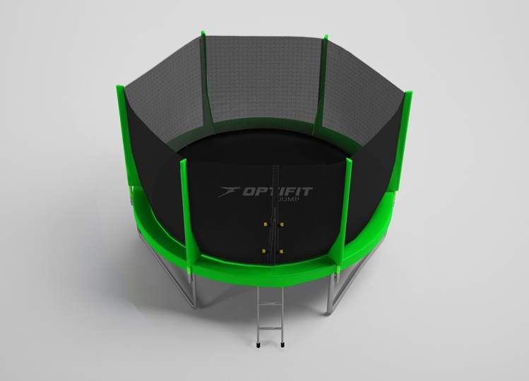 Батут Optifit Jump 10ft зеленый (3,05м)