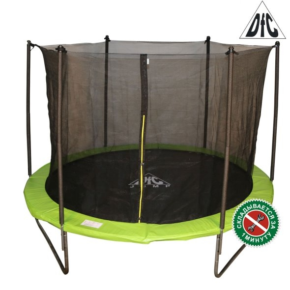 Батут DFC JUMP Apple Green 14FT-TR-AEG (4,27 м)